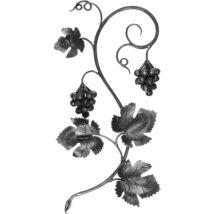 Kézi kovácsolt szőlőmotívum (683/A)