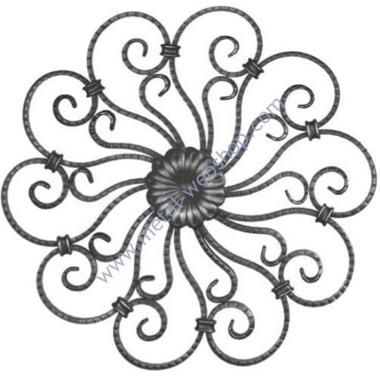Klasszikus rozetta, többféle anyagvastagságban (330)