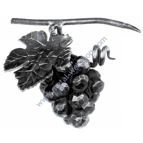 Kézi kovácsolt szőlőfürt (696)