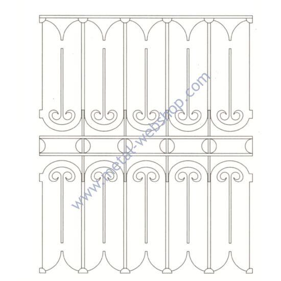 Stahlblech Paneel Mit Ornament Fur Einfahrtstor Stahlblech Paneele