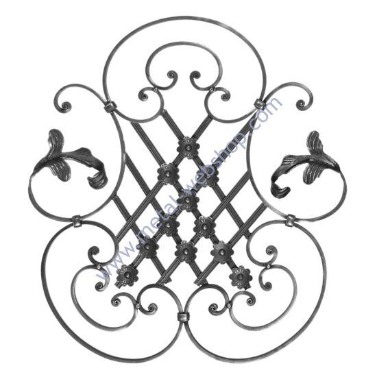 Barokk elem, sima felület (009/A)