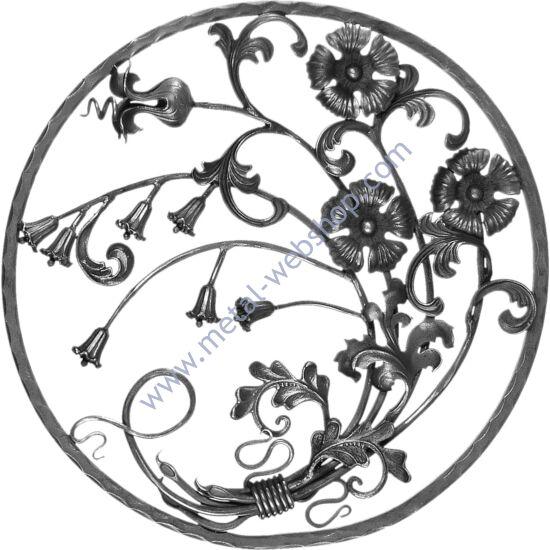 Virágmintás panel (312)