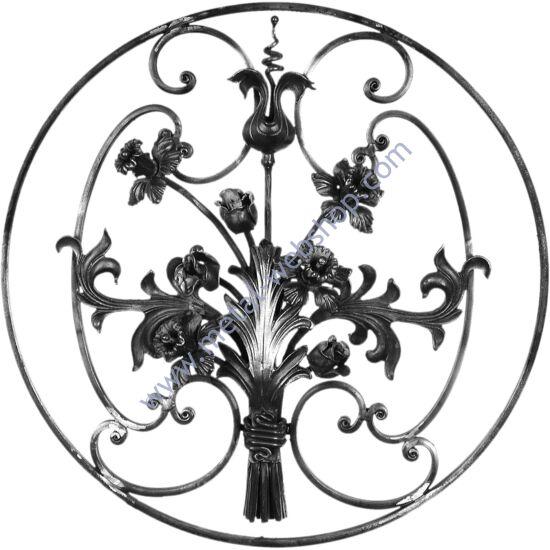 Virágmintás panel (313)