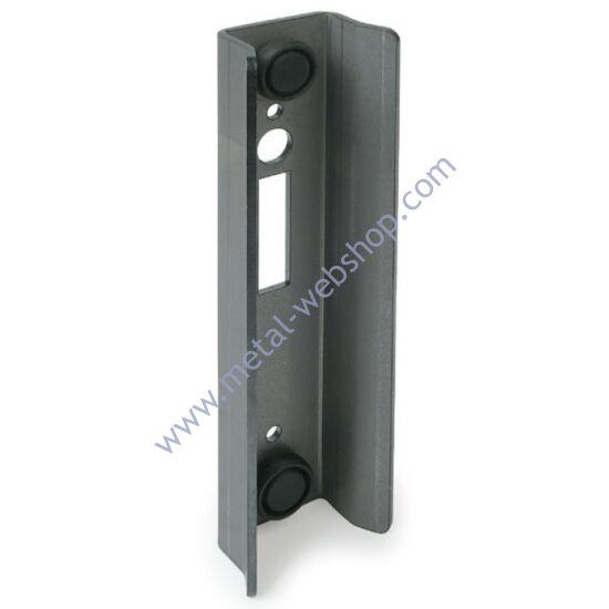 Zárfogadó gumi ütközővel (210mm), tolókapu zárhoz, többféle méretben