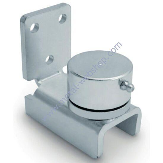 Csapágyas alsó forgáspont, csavarozható, állítható, többféle méretben