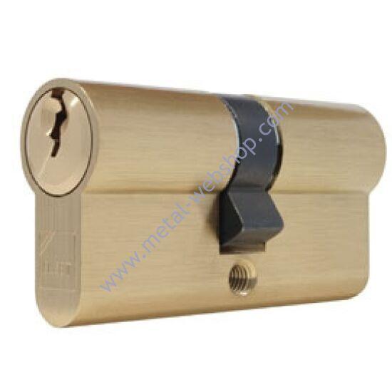 Elzett biztonsági zárbetét 30/30mm, rézből, 3 kulccsal (801)