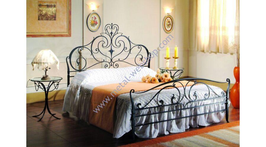 Schmiedeeisen Bett Poseidone Farbe Wahlbar Betten Metall Web Shop